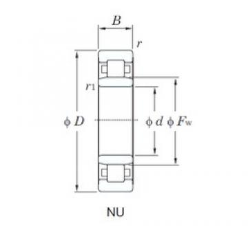 65 mm x 120 mm x 31 mm  65 mm x 120 mm x 31 mm  65 mm x 120 mm x 31 mm  KOYO NU2213R cylindrical roller bearings