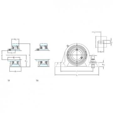 SKF SY 55 TF bearing units